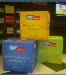 عقد قرارداد پیاده سازی SAP و شروع پروژه در شرکت گلستان در آبان ماه سال 1391
