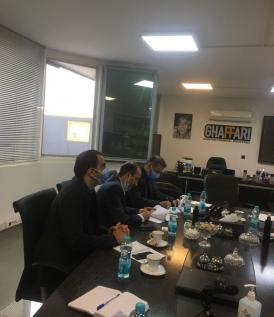 عقد قرارداد با شرکت صنایع شیمیایی غفاری