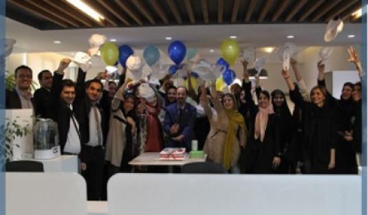 افتتاح دفتر جدید سامه آرا در آذر ماه سال 1396