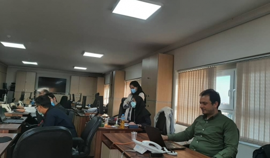 گزارش تصویری از استقرار پروژه های مجتمع ذوب آهن پاسارگاد و گروه صنعتی بهمن